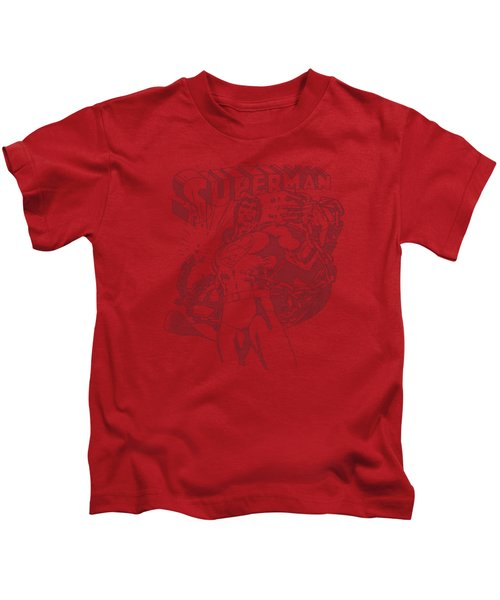 Superman - Code Red Kids T-Shirt