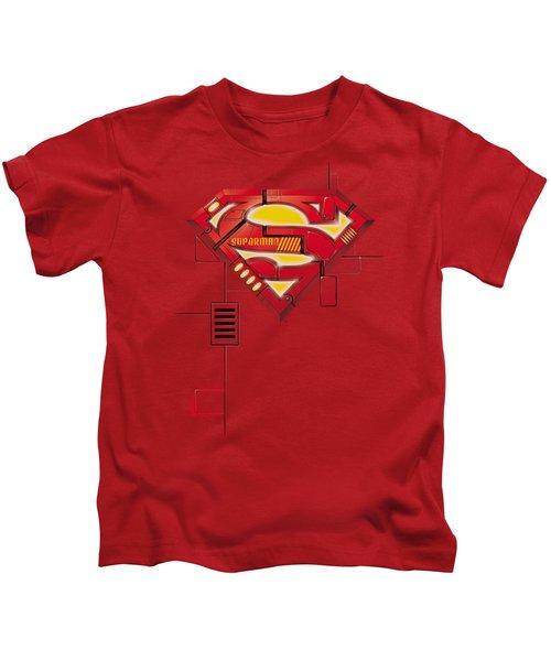 Superman - Super Mech Shield Kids T-Shirt