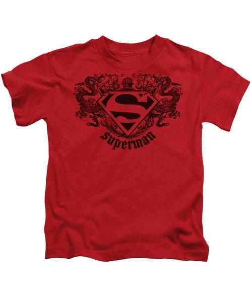 Superman - Superman Dragon Kids T-Shirt