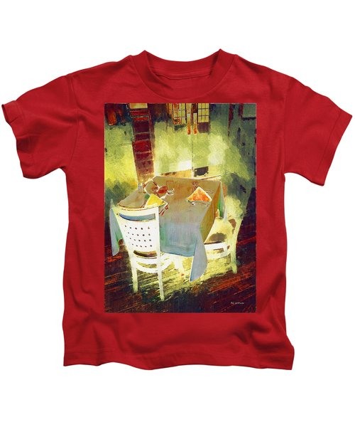 Table At The Fauve Cafe Kids T-Shirt