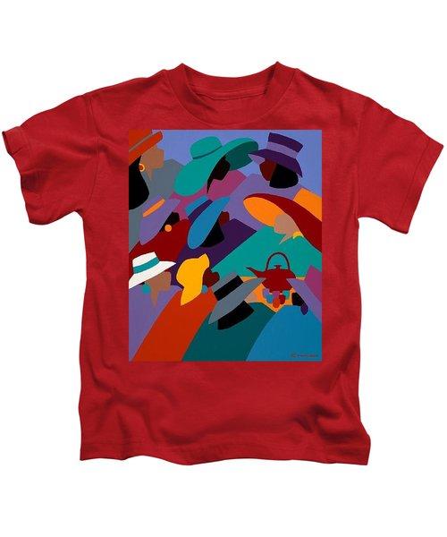 Tea And Conversations Kids T-Shirt