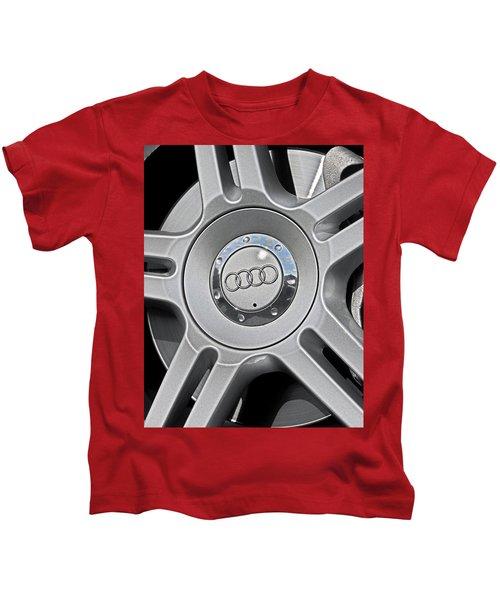 The Audi Wheel Kids T-Shirt