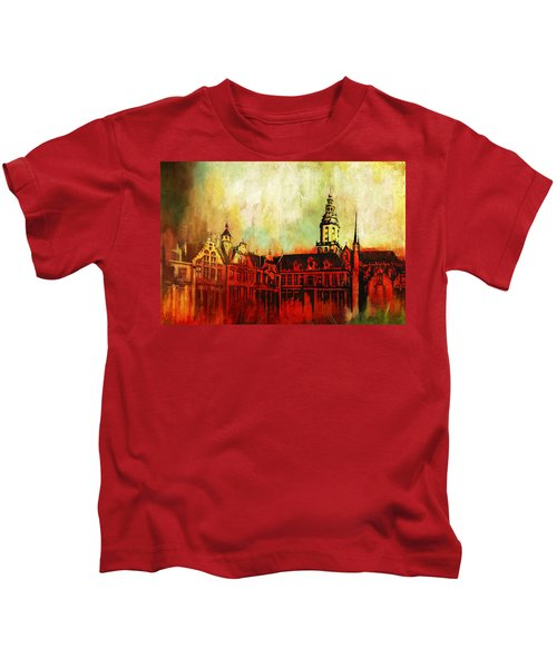 The Belfries Of Belgium And France  Kids T-Shirt