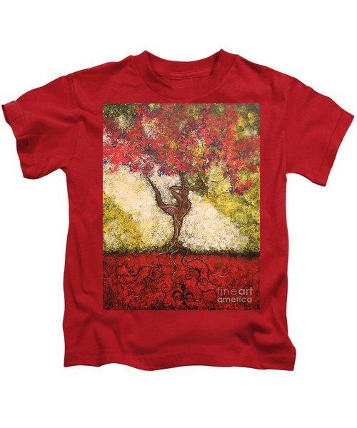 The Dancer Series 7 Kids T-Shirt