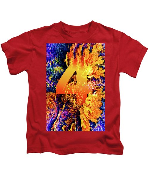 The Four Of Creation Kids T-Shirt