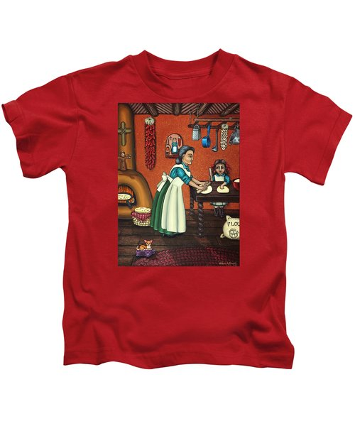 The Lesson Or Making Tortillas Kids T-Shirt