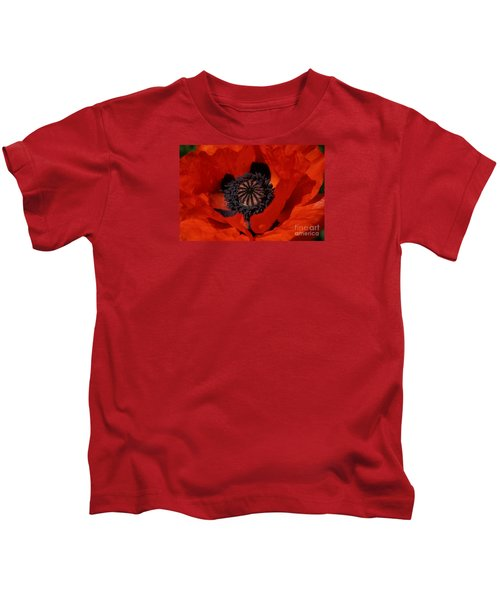 The Poppy Is Also A Flower Kids T-Shirt