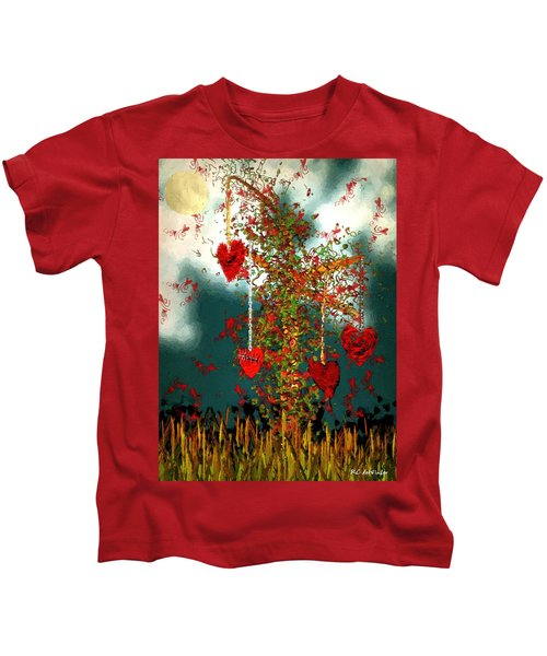 The Tree Of Hearts Kids T-Shirt