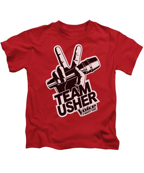 The Voice - Usher Logo Kids T-Shirt