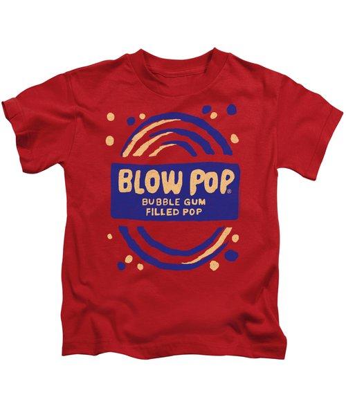 Tootsie Roll - Blow Pop Rough Kids T-Shirt