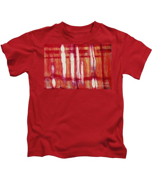 Vascular Rays And Vessel Elements Kids T-Shirt