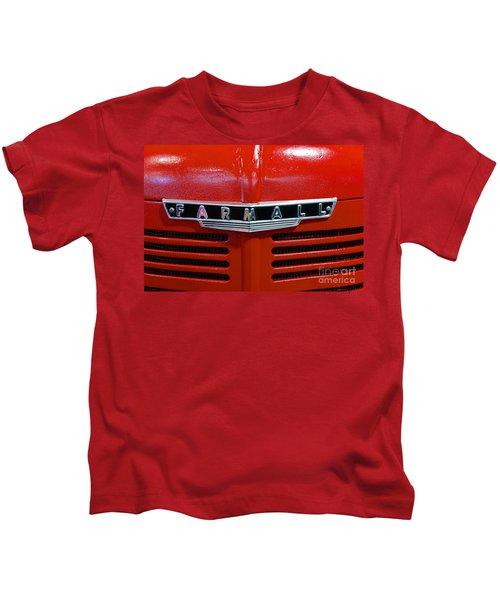 Vintage 1947 Farmall Tractor Kids T-Shirt