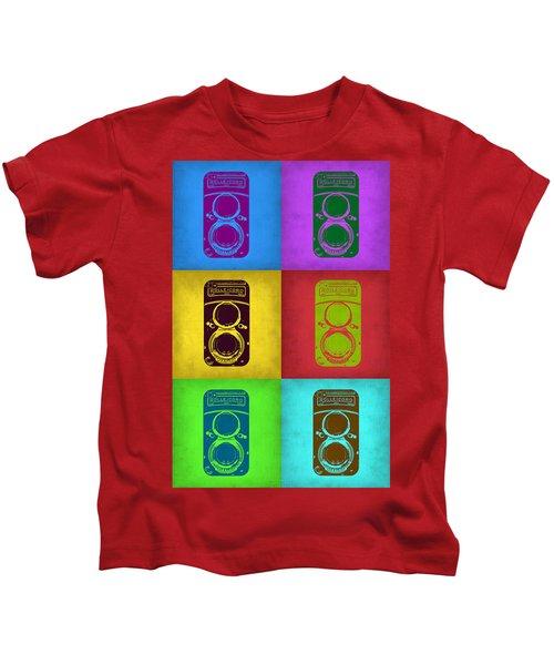 Vintage Camera Pop Art 2 Kids T-Shirt