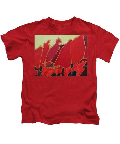 Volcano Vault Kids T-Shirt