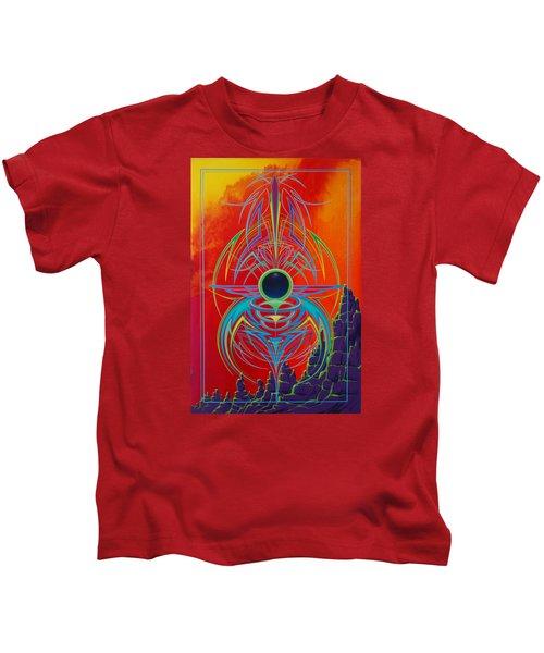Waiting Over Sedona Kids T-Shirt