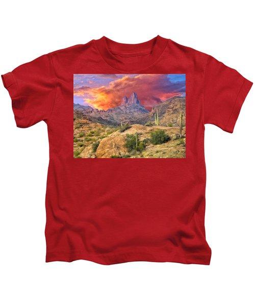 Weavers Needle Kids T-Shirt