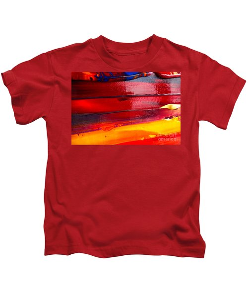 Wet Paint 123 Kids T-Shirt