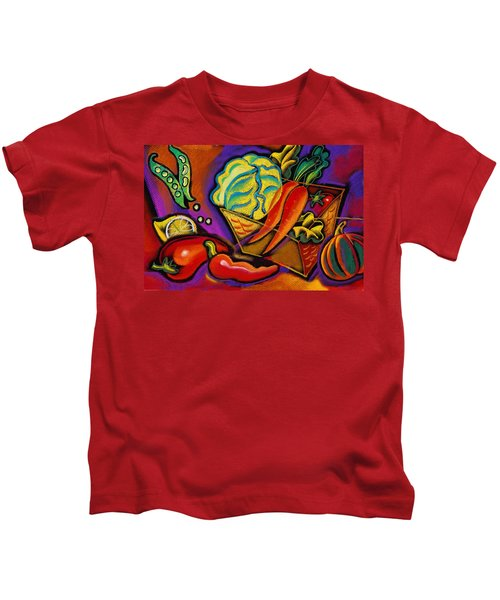 Very Healthy For You Kids T-Shirt by Leon Zernitsky