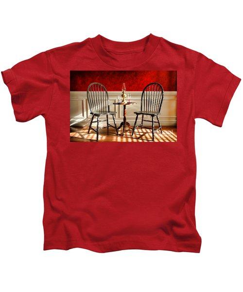 Windsor Chairs Kids T-Shirt