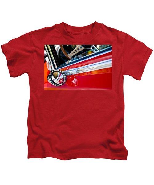 Classic Red Car Artwork Kids T-Shirt