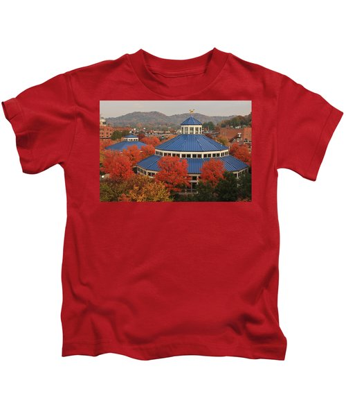 Coolidge Park Carousel Kids T-Shirt