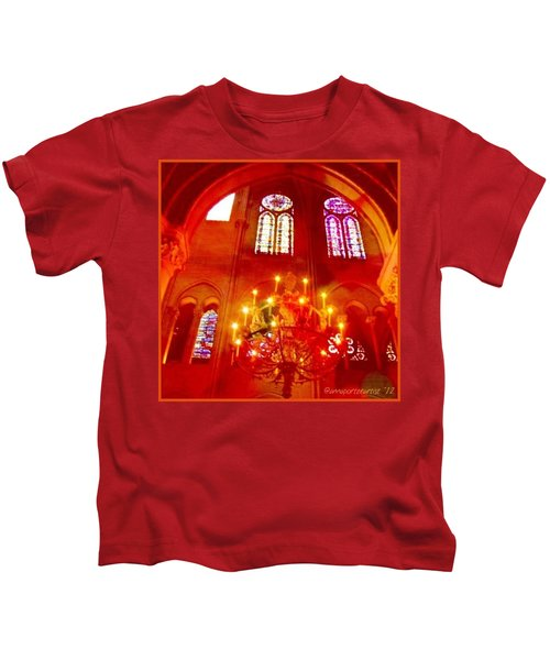 Notre Dame Cathedral - Paris France Kids T-Shirt