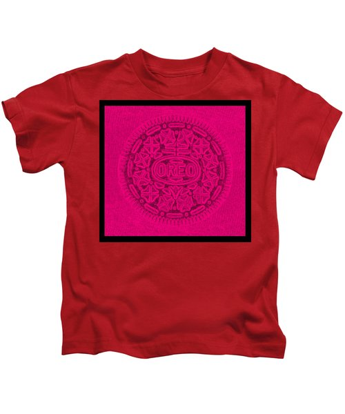 Oreo In Hot Pink Kids T-Shirt