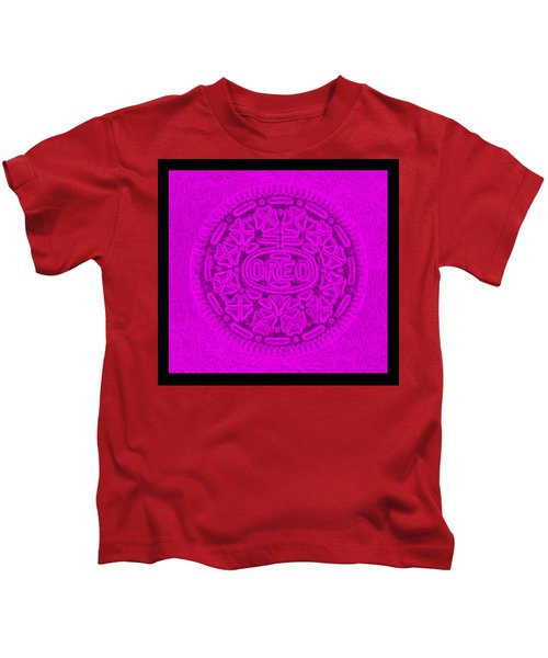 Oreo In Purple Kids T-Shirt