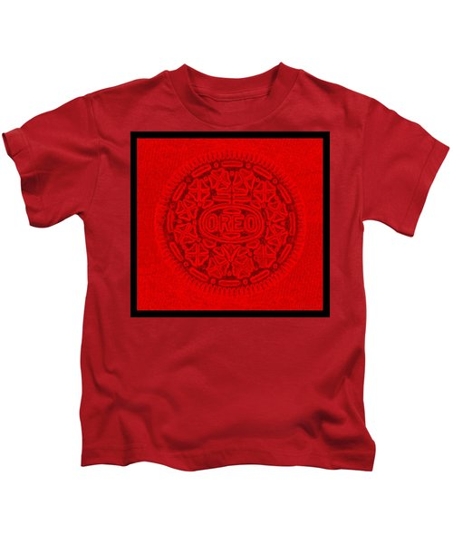 Oreo In Red Kids T-Shirt