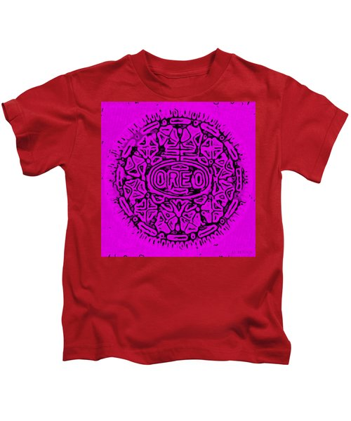 Purple Oreo Kids T-Shirt