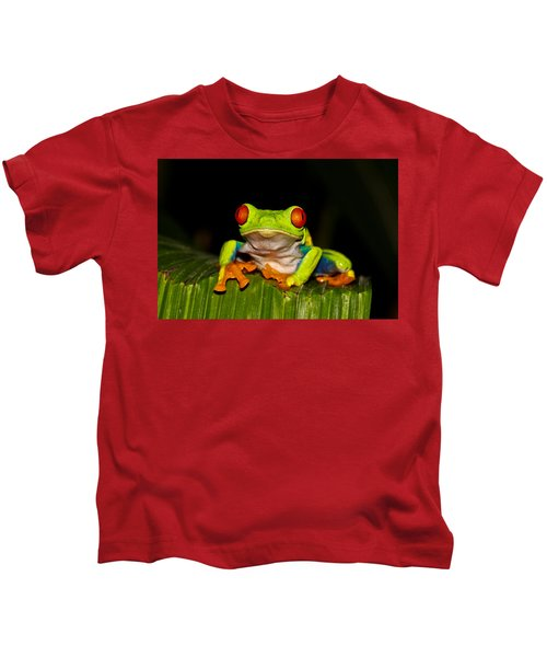 Red Eyes 1 Kids T-Shirt