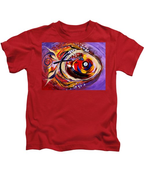 Scripture Fish Kids T-Shirt