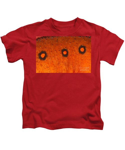 Skin Of Eastern Newt Kids T-Shirt by Ted Kinsman
