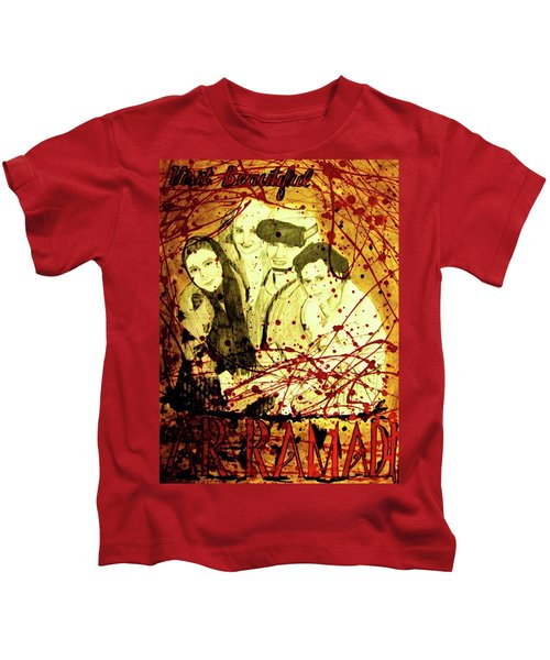 Visit Beautiful Ar Ramadi Kids T-Shirt