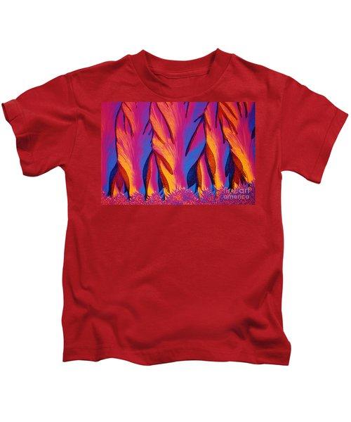 Vitamin E Crystals Kids T-Shirt
