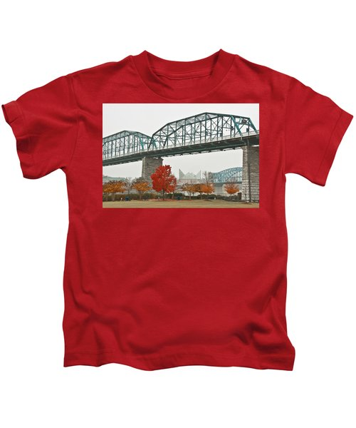 Walnut Street Bridge Kids T-Shirt