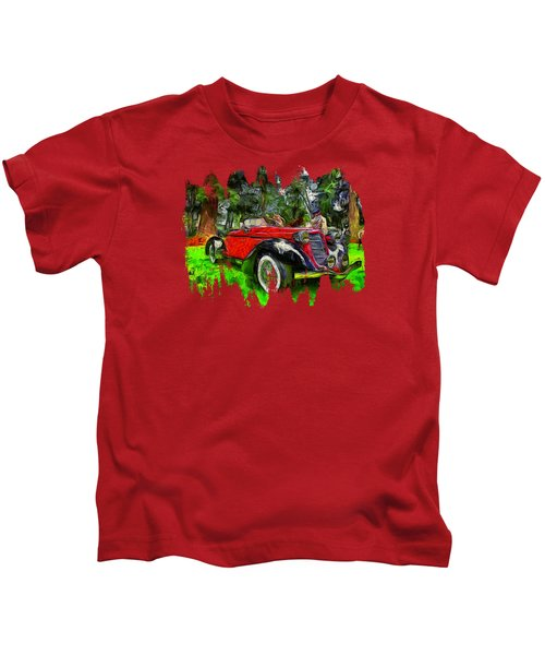 1935 Auburn Boattail Speedster Kids T-Shirt