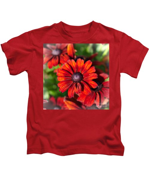 Autumn Flowers Kids T-Shirt