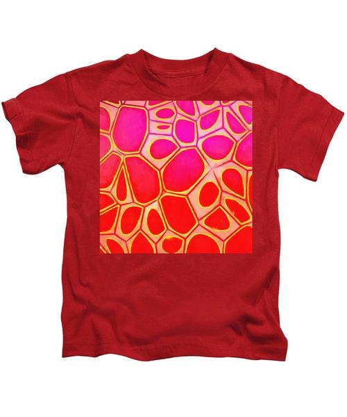 Cells Abstract Three Kids T-Shirt