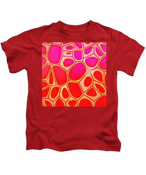 Cells Abstract Three Kids T-Shirt