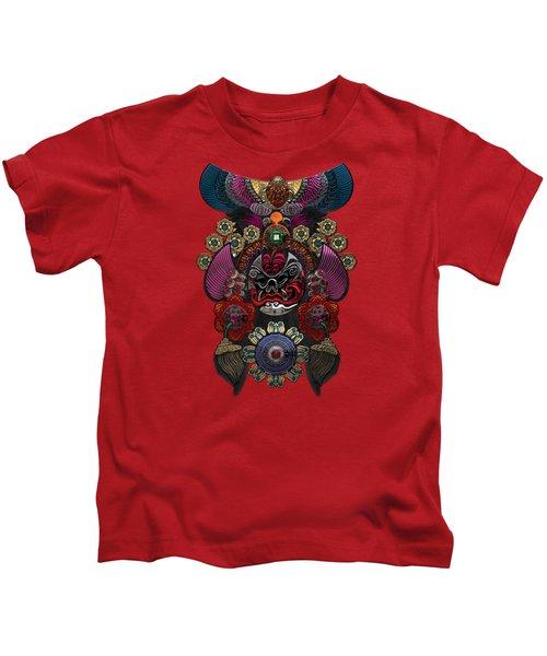 Chinese Masks - Large Masks Series - The Demon Kids T-Shirt by Serge Averbukh