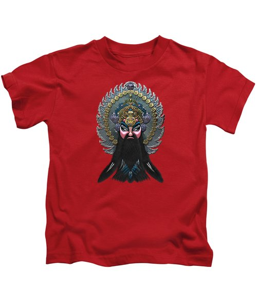 Chinese Masks - Large Masks Series - The Emperor Kids T-Shirt