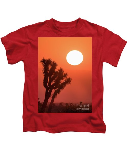 Desert Sunrise Kids T-Shirt
