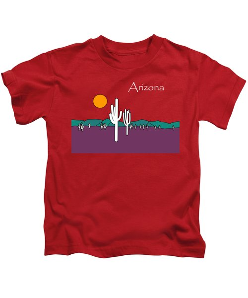 Desert Sunset Kids T-Shirt