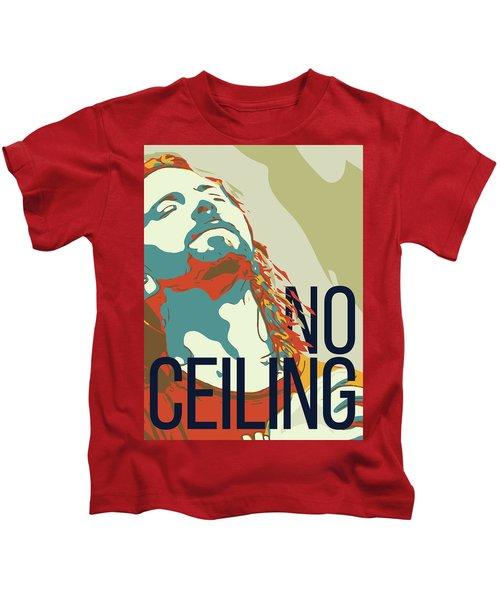 Eddie Vedder Kids T-Shirt by Greatom London