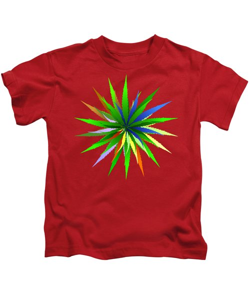 Leaves Of Grass Kids T-Shirt