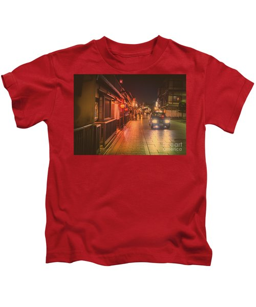 Old Kyoto, Gion Japan Kids T-Shirt
