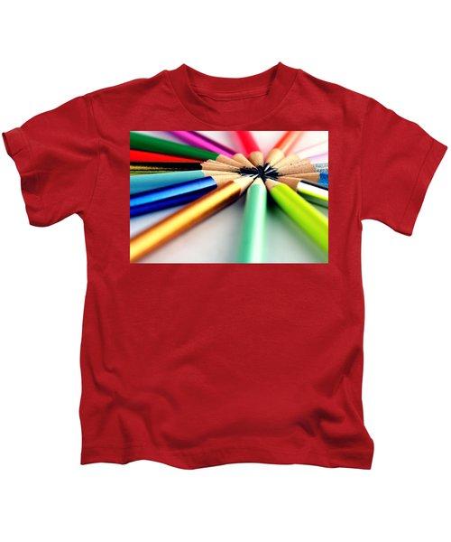 Pencils Kids T-Shirt
