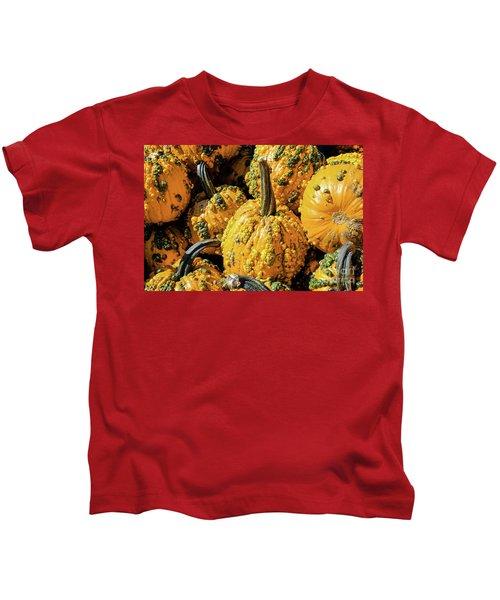 Pumpkins With Warts Kids T-Shirt