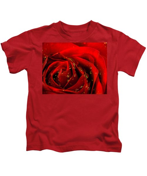 Red Rose 2 Kids T-Shirt
